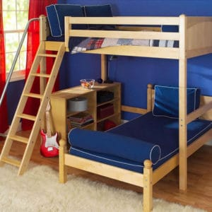 maxtrix l shaped bunk bed