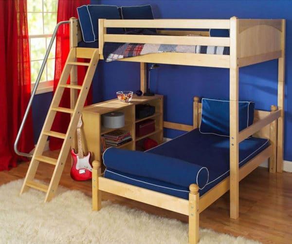 maxtrix l shaped bunk bed
