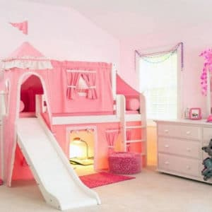 maxtrix princess loft bed