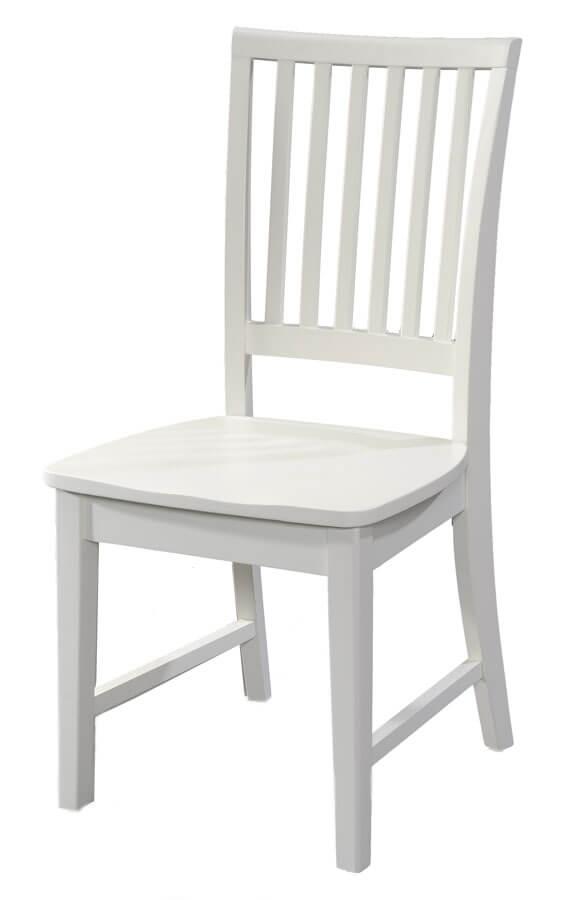 mushroom sherwood student desk chair white