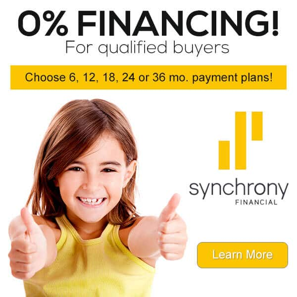 0% financing through synchrony bank