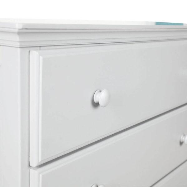 jackpot 5 drawer kids tall dresser white detail