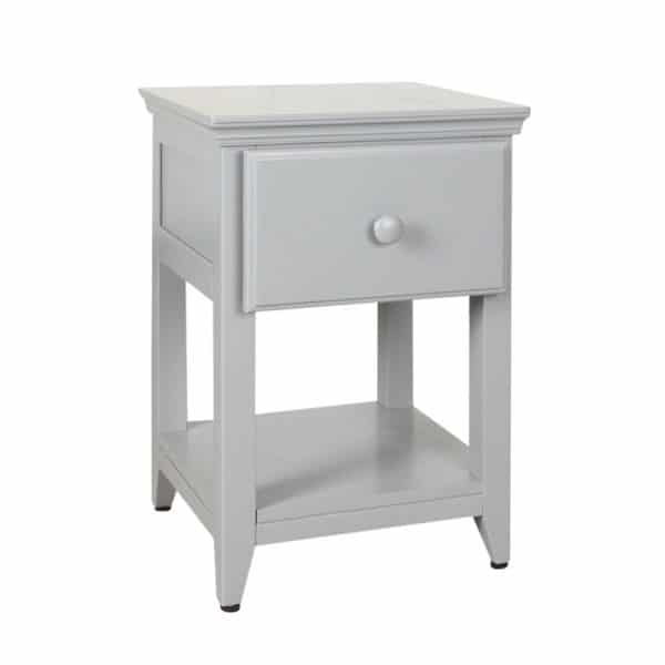 jackpot 1 drawer nightstand grey
