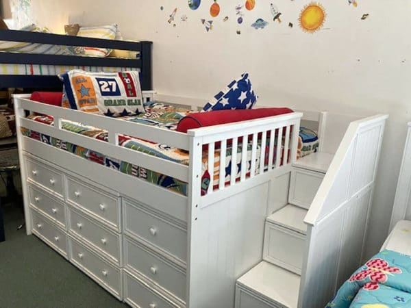 clearance jay furniture twin junior loft bed