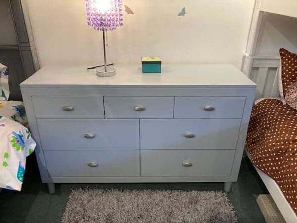 clearance mid-century 7 drawer chest