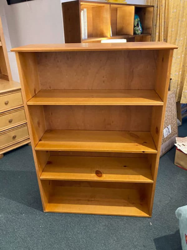 clearance pinecrest bookcase