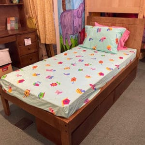 pinecrest twin bed clearance model